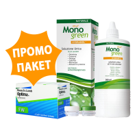Optima FW - 2 броя + разтвор Oftyll Monogreen 500 ml