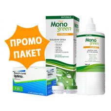 Optima FW - 2 броя + разтвор Oftyll Monogreen 500 ml