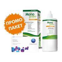Biofinity Multifocal - 6 Lenses + Oftyll Monogreen 500 ml