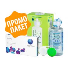 Biofinity - 2 броя + разтвор BioTrue 120 ml