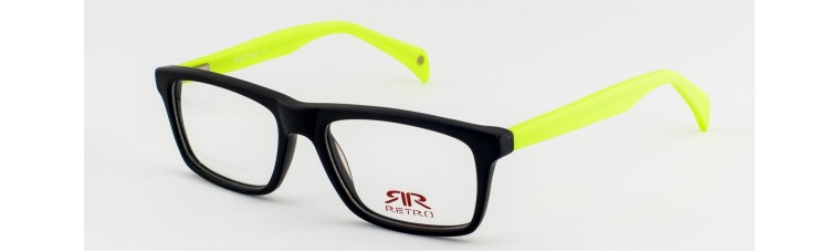Retro - RR541 - Black and Yellow